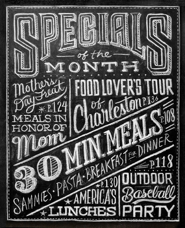Design fixation typeface tuesday chalk type Chalkboard typography