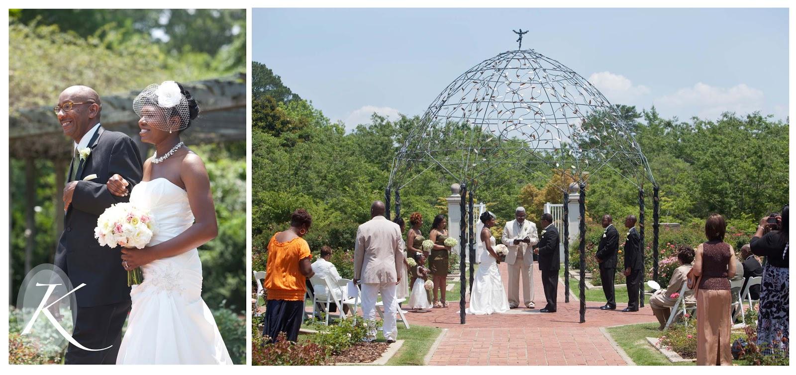 Merritt Wedding : Birmingham Botanical Gardens : Birmingham, AL Wedding  Photography