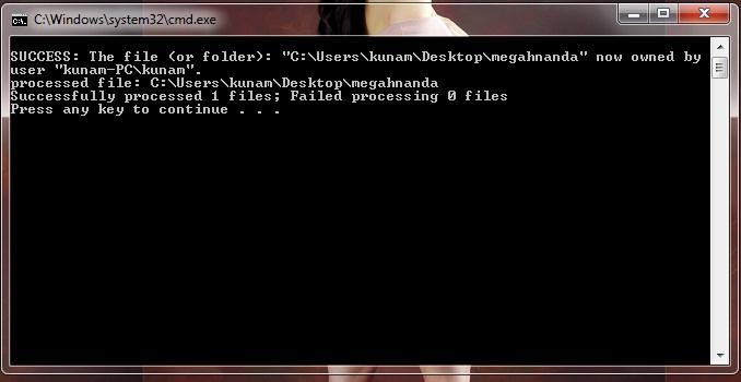 how to take permision of a folder ubuntu