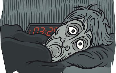 Noite mal dormida