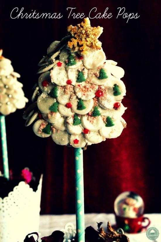 cake pops árbol de navidad kidsandchic 1