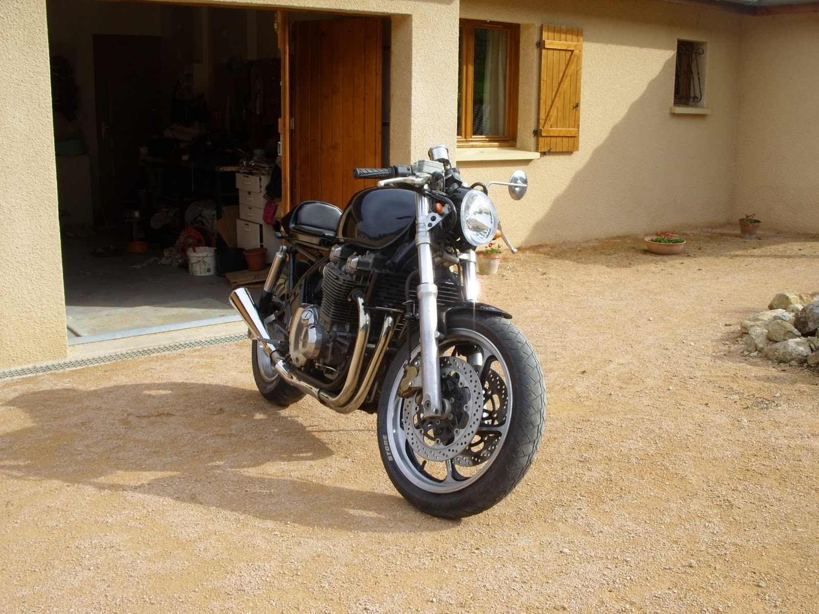 Demi Guidon Moto Cafe Racer