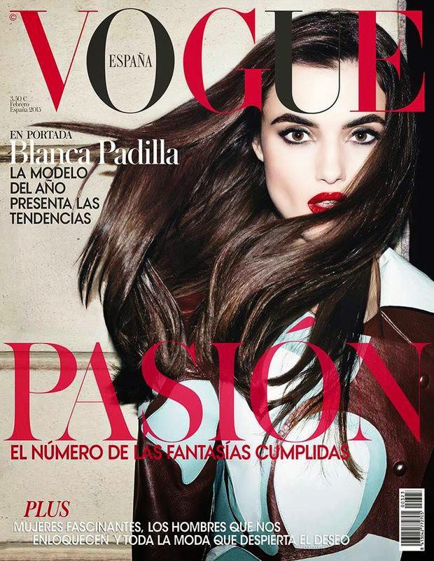 Blanca Padilla - Vogue, Spain  February 2015
