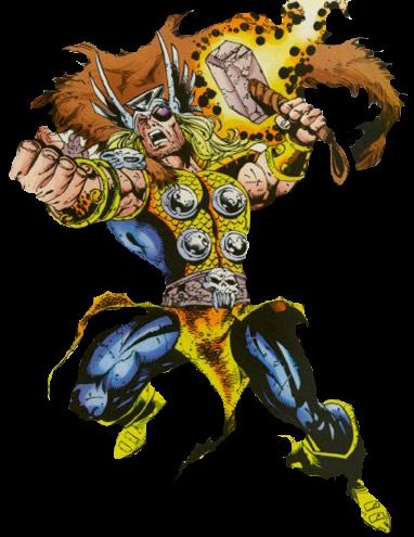 Galería de Portadores del Mjolnir - Thor Mutant-X