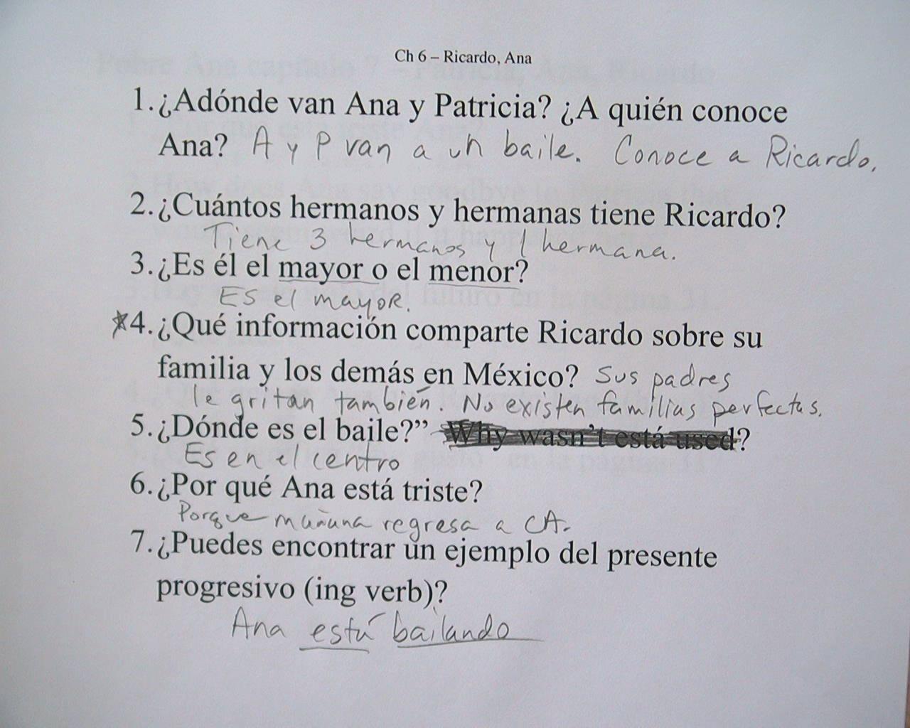 worksheet Pobre Ana Worksheets pobre ana worksheets vintagegrn packet koopmans klass december 2012