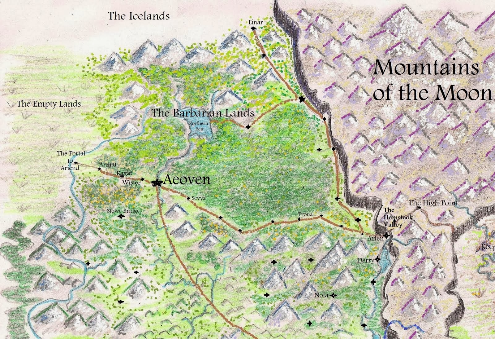 Aeoven and the North