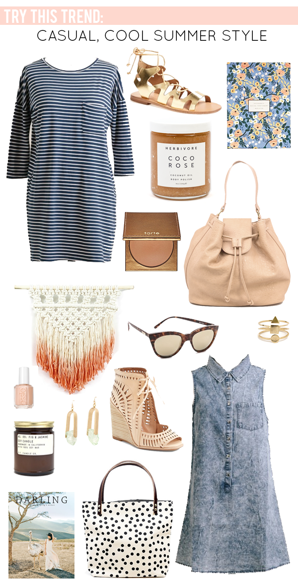 Casual Cool Summer Style - Effortless summer dressing with a pacific northwest inspired twist.