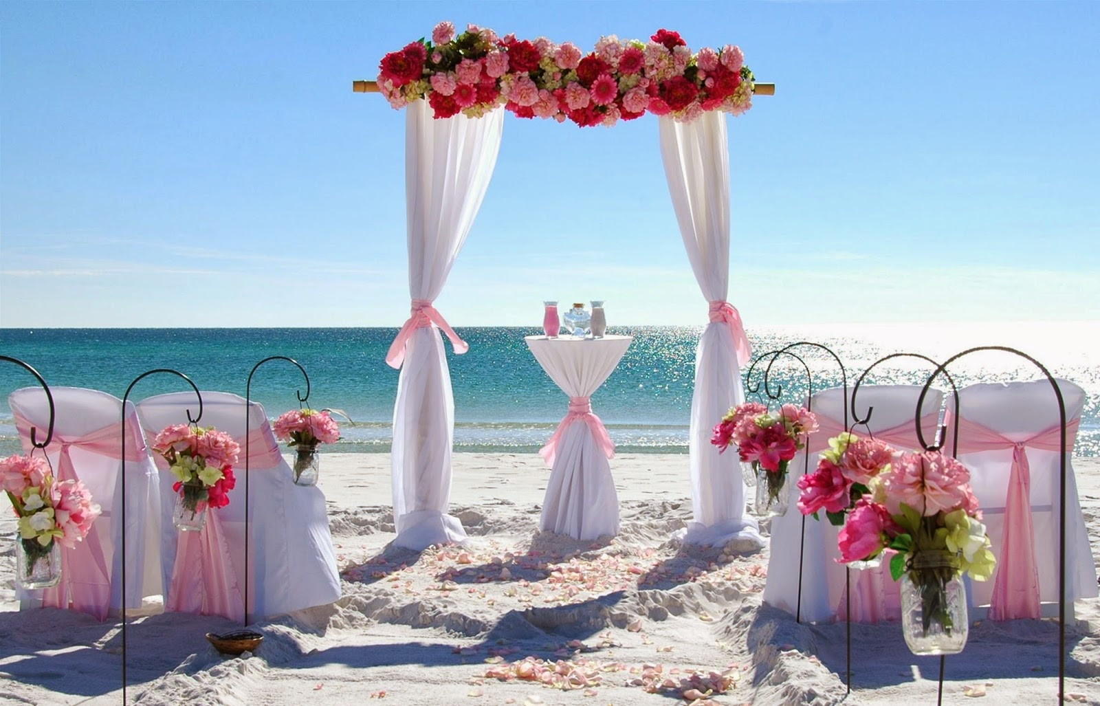 Florida Barefoot Beach Weddings