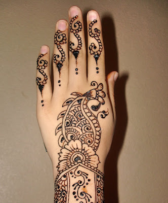 Eid Mehndi Designs Collection - islamic art-2