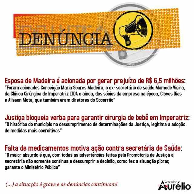 Facebook, Vereador Aurélio
