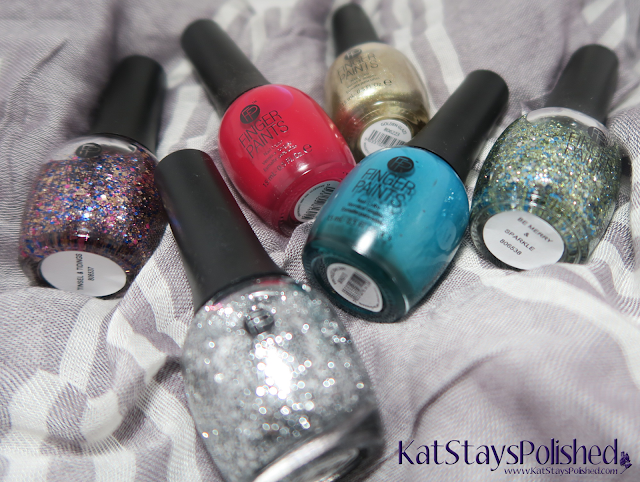 FingerPaints Tis the Season to Sparkle | Kat Stays Polished