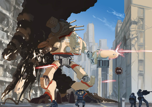 Mech por UnknownTico