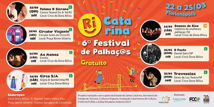 Festival Internacional de Palhaços Ri Catarina
