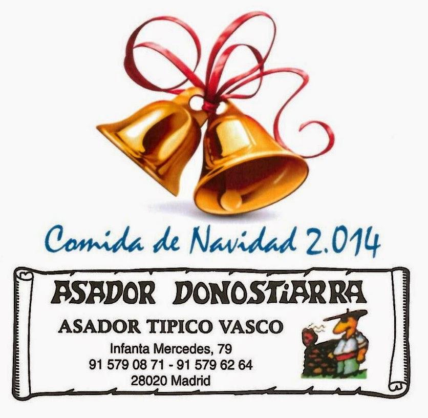 COMIDA DE NAVIDAD 2014