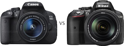 Nikon D5300 vs Canon EOS 700D, NIkon VS Canon, DSLR camera, new camera, Full HD Video, DSLR entry-level