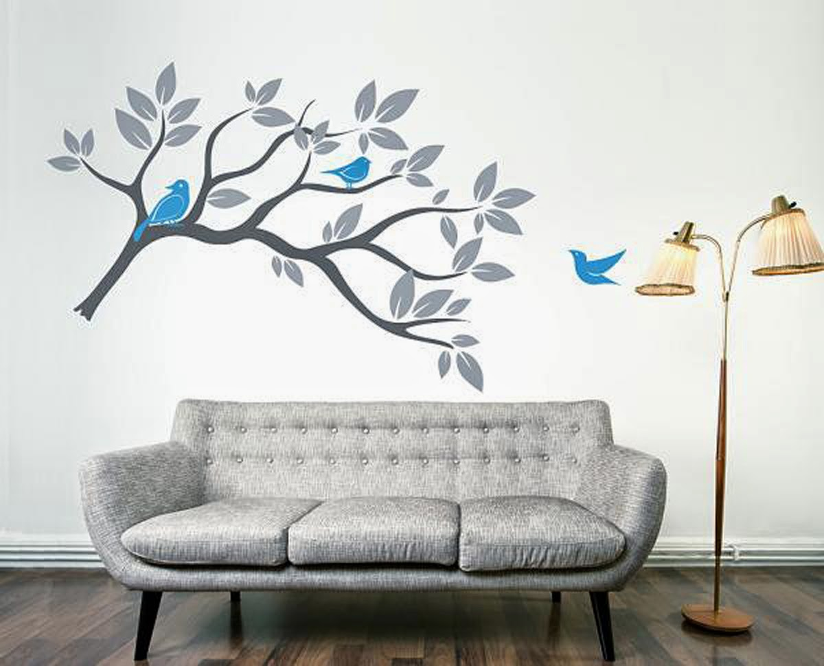 Simple wall designs with paint 2014