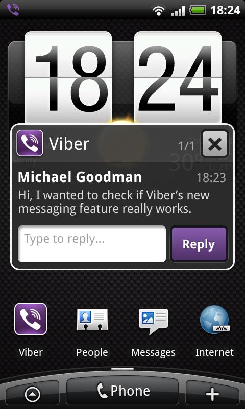 viber for android just mobile phone