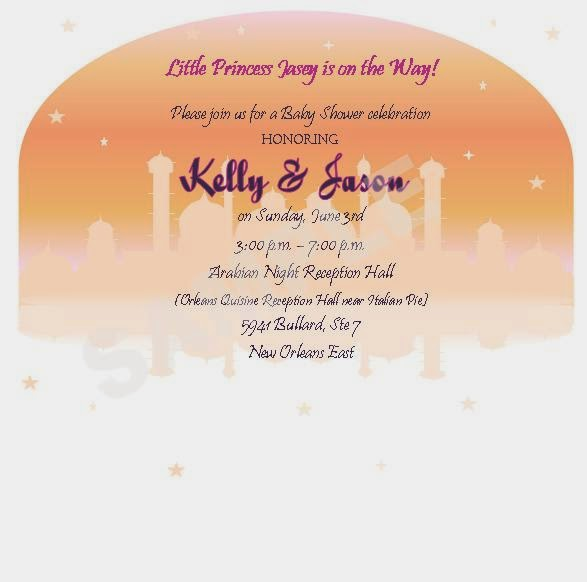 SolutionsEvent Design by Kelly Arabian Nights Theme Invitations