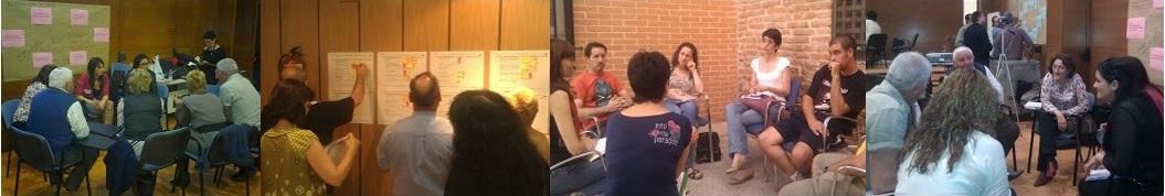 La deliberación presencial como parte intrínseca de un proceso participativo