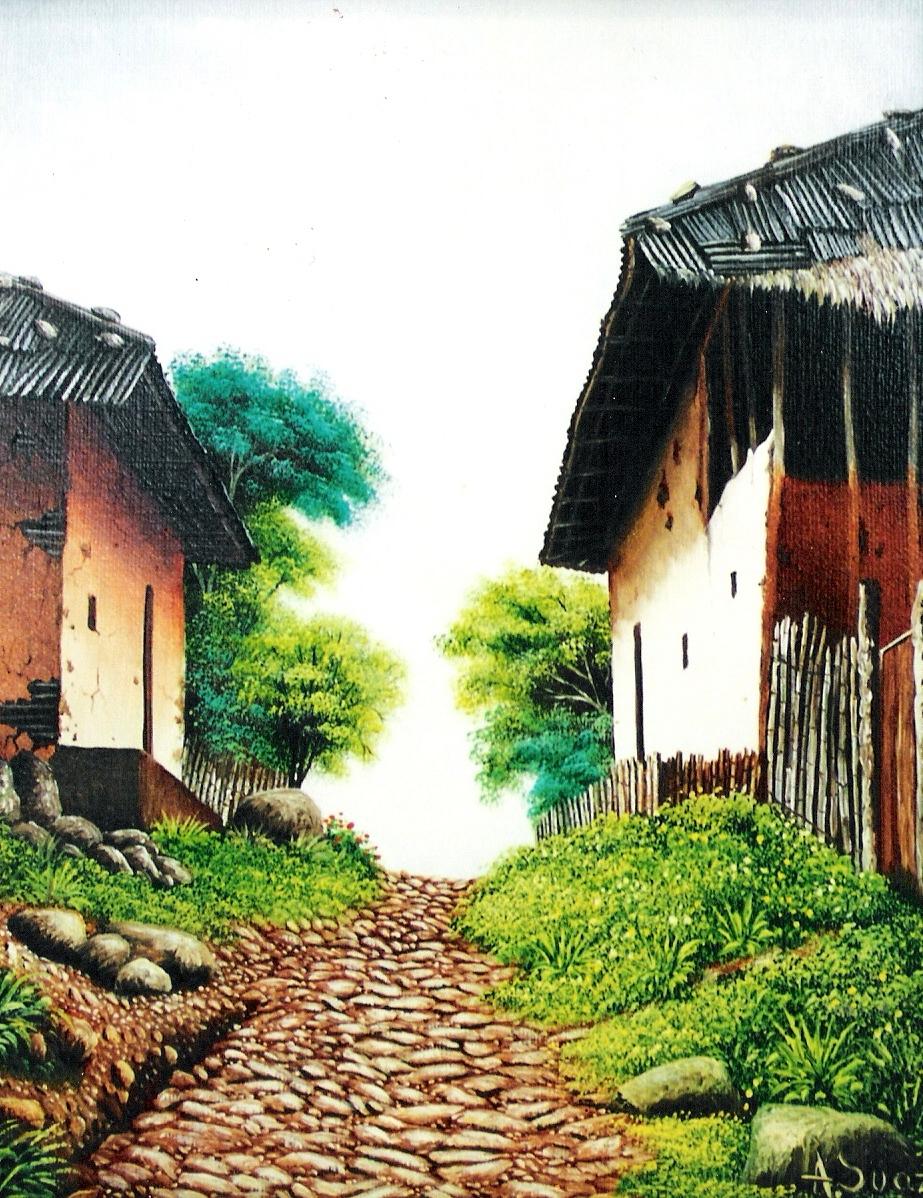 Los mejores pintores fot grafos y escultores de colombia - Paisajes de casas ...