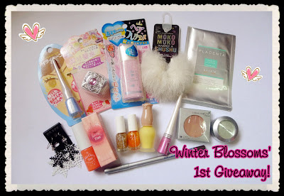 Winter Blossom s' 1st Giveaway! (06/01)
