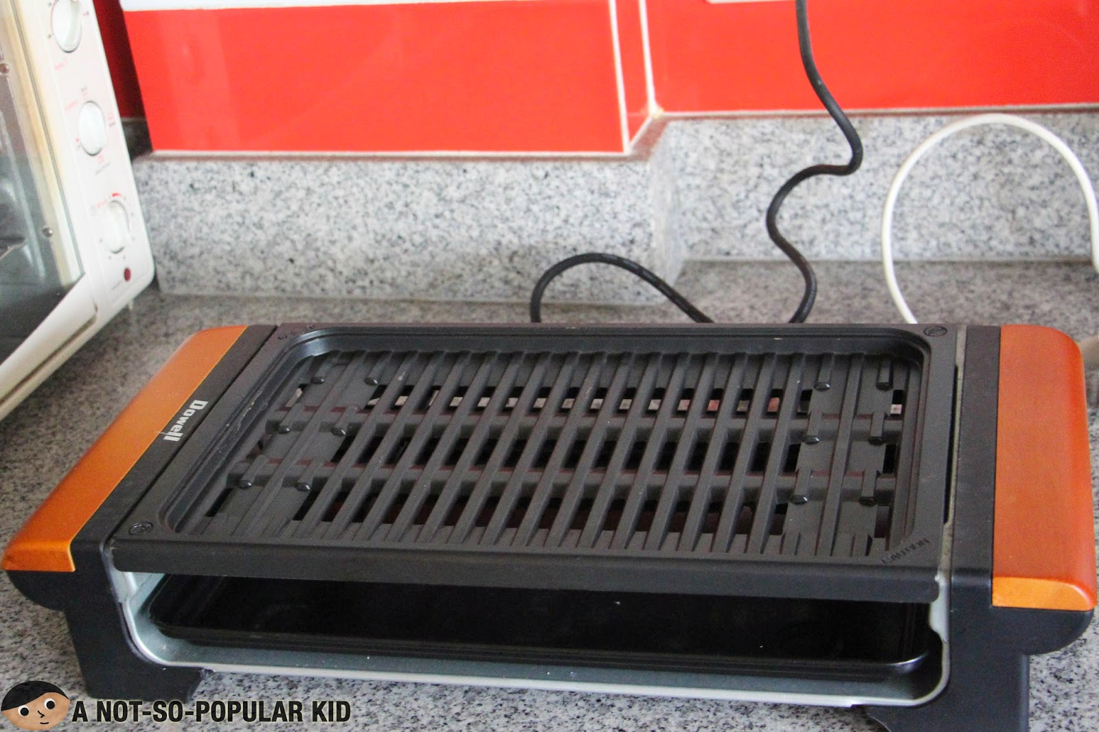 Electronic Indoor Grill for the Samgyeopsal