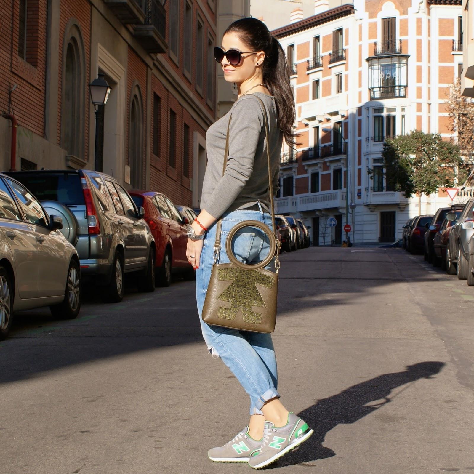 La Caprichossa, blog de moda, Look con New Balance 574