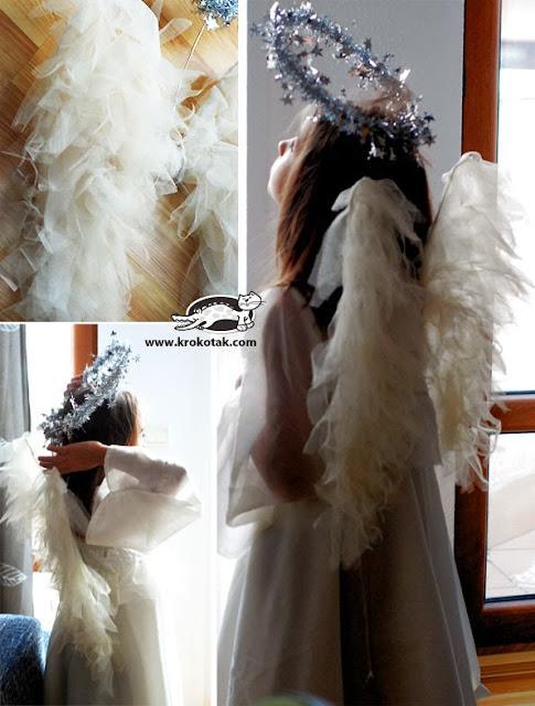 Tutorial para hacer disfraz de angel.