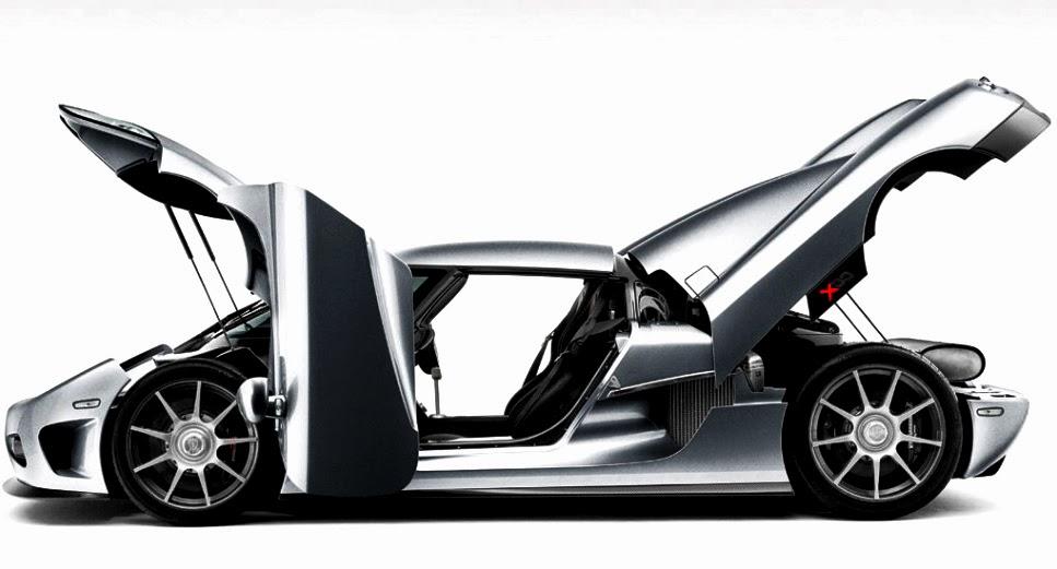 Koenigsegg CCX Door