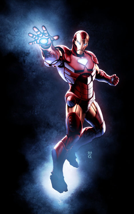 eye of the geiger  iron man extremis