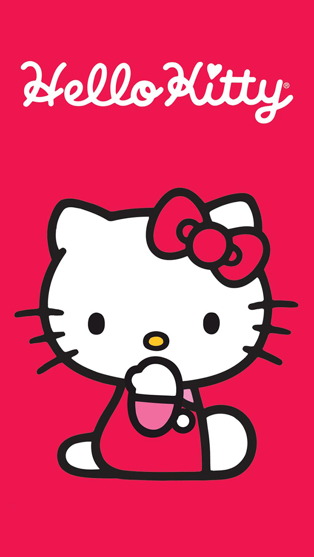 Hello Kitty Iphone Wallpapers Free Wallpaper for Mobile