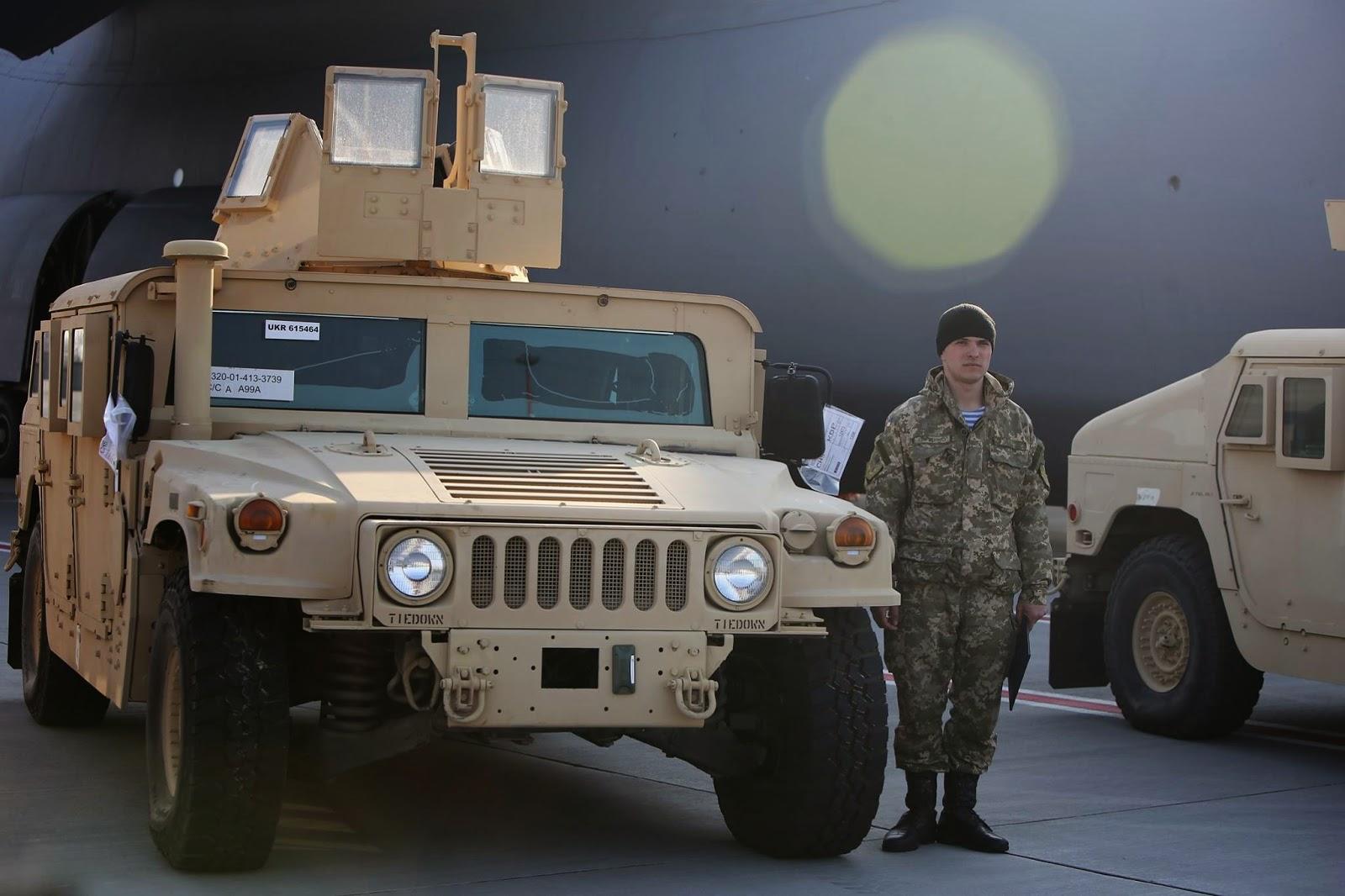 бронеавтомобілі HMMWV