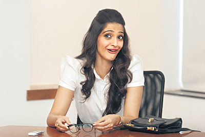 Sonam Kapoor at DNA Office