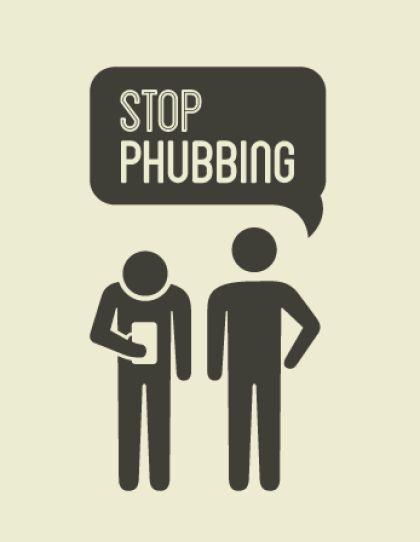 Razones erradicar el phubbing