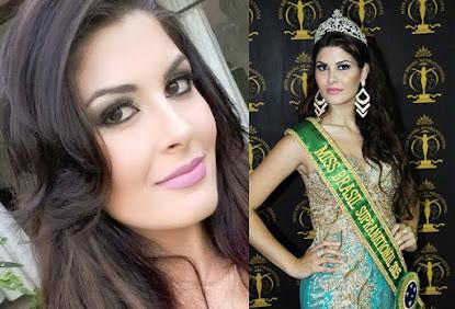 Amanda Gomes fala da emoção ao ser coroada Miss Brasil Supranational 2015