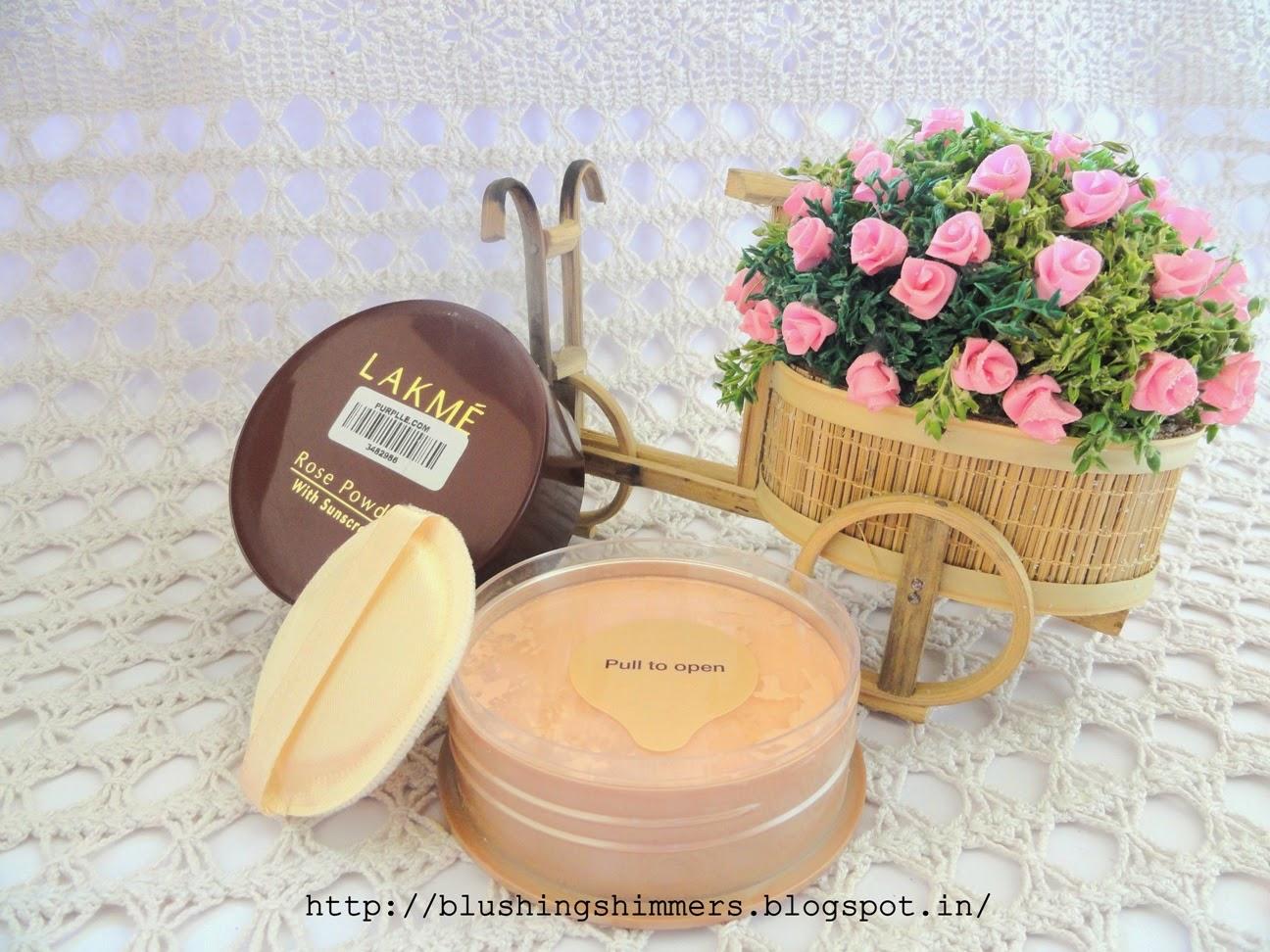 Lakme Rose Powder - Warm Pink