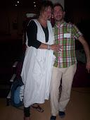 Con Pat Atanas, instructora asociada mentora seminarios Madrid 2011