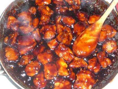 CHERYL's Cooking!!: Bourbon Chicken
