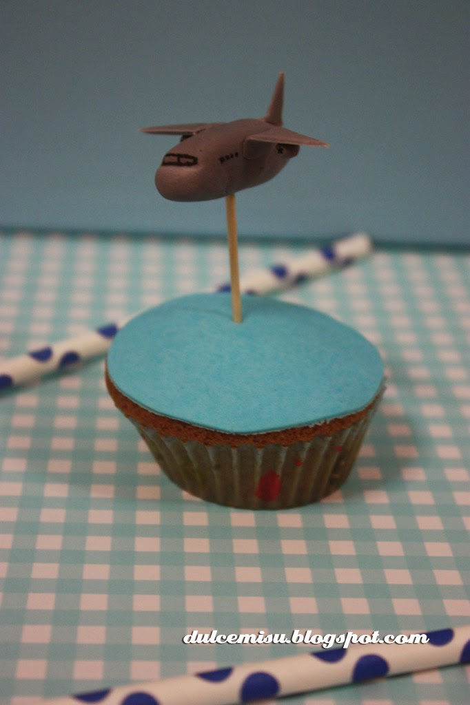 cupcake, dia del padre, fondant, dulcemisu, wrapper