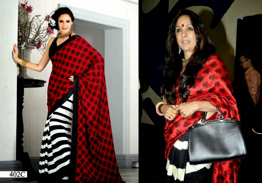 Celebrity's Favorite Sarees