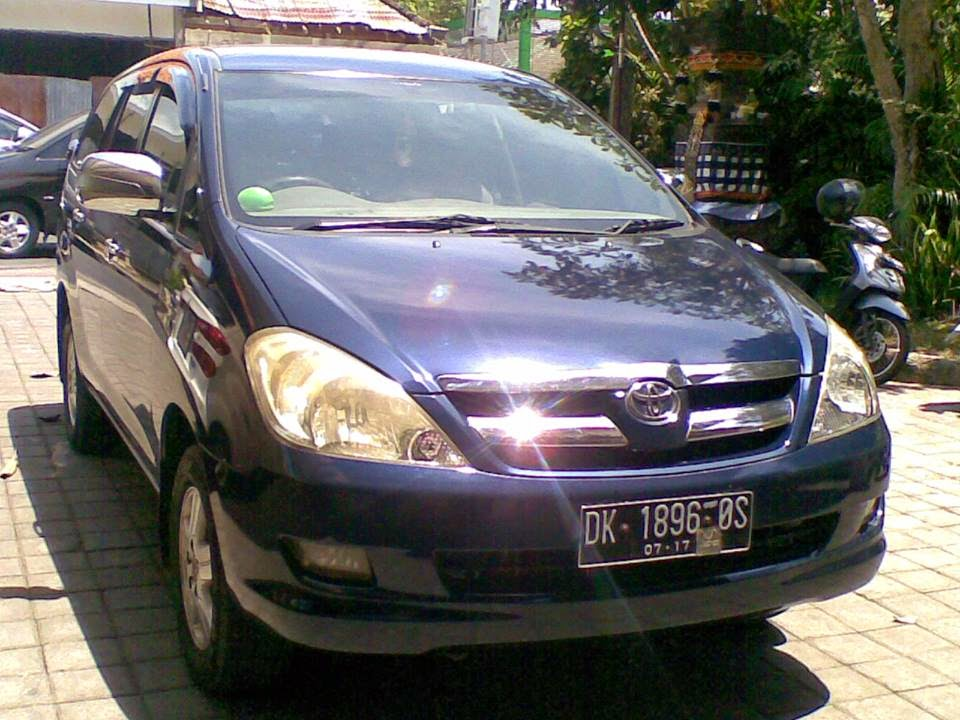 our vehicle with totyota inova