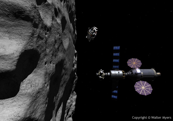 Spacecraft stability dynamics and control near the