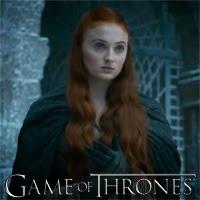 Sansa Stark en Juego de Tronos Capitulo 4x07