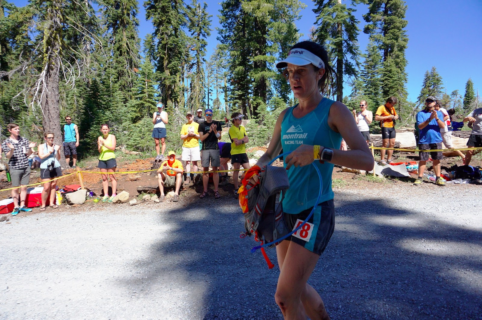 jill outside from the sidelines of western states my job was to join amy s sister lisa at half of the crewed aid stations lisa comes out from wisconsin every year for some sisterly bonding but she often