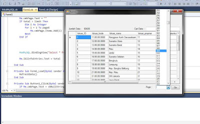 Paging data mysql pada datagridview visual basic net http://www.ilmuprogrammer.com/
