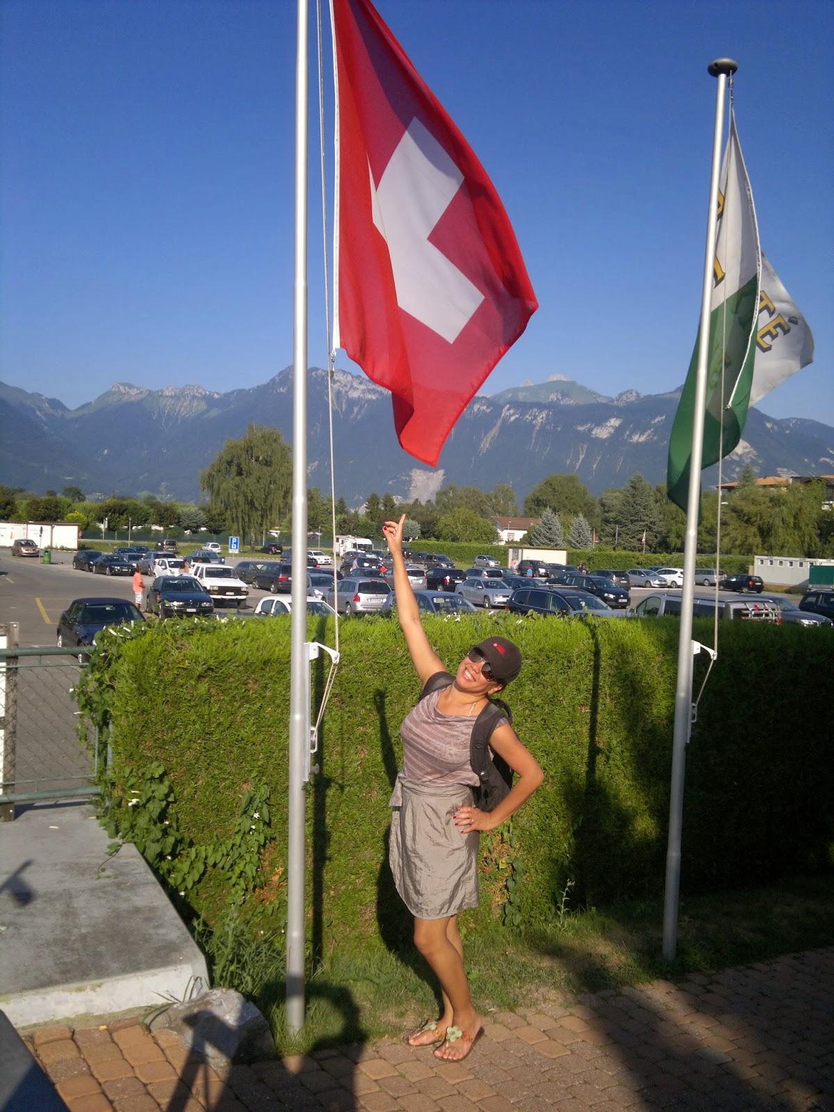 Não se comemora o Dia dos Pais na Suíça!