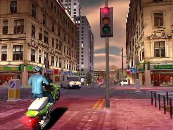 motor cycle racing game