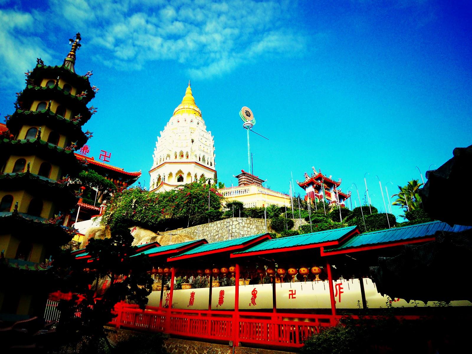 Amazing Malaysia Kek Lok Si Temple Penang The Temple Of Supreme Bliss