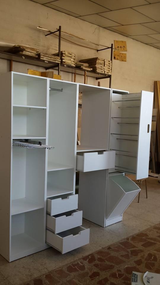 Madera y mueble mueble para lavadora secadora - Armario para lavadora ...