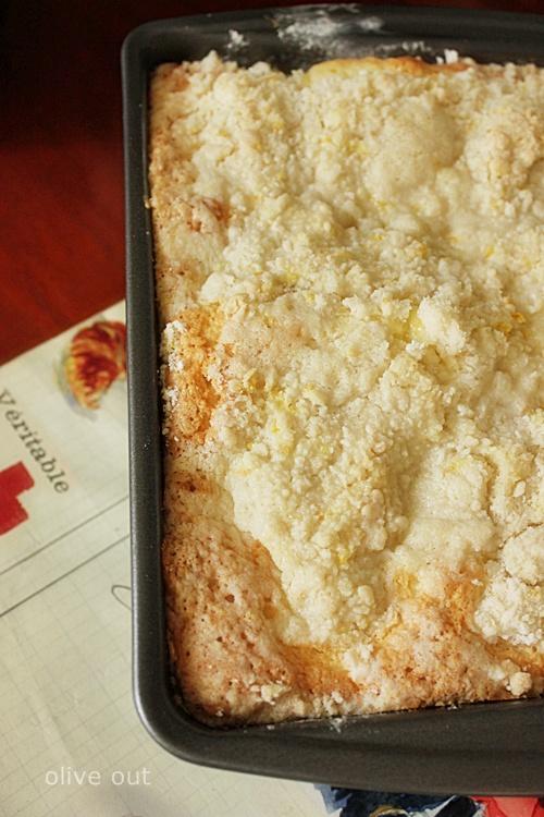 Coffee Cake Made With Lemon Pie Filling